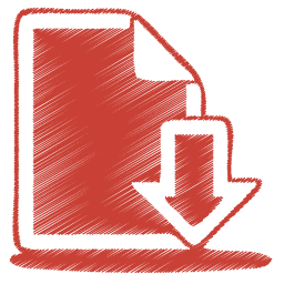 red-document-download-icon